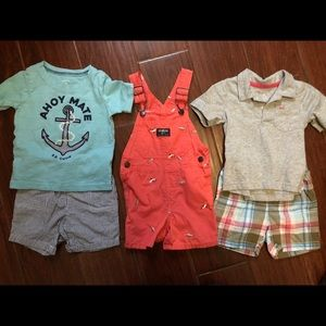 Carter's and Oshkosh 18/24 Month outfits